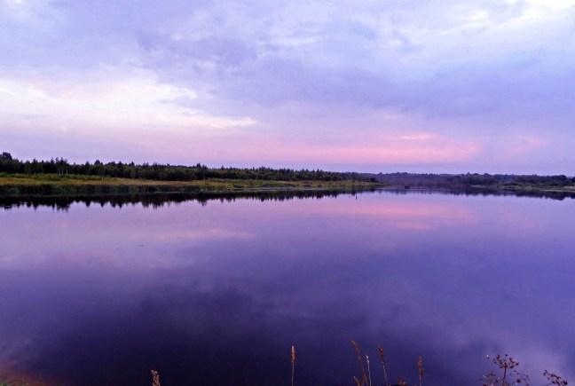 Ночь на озере...